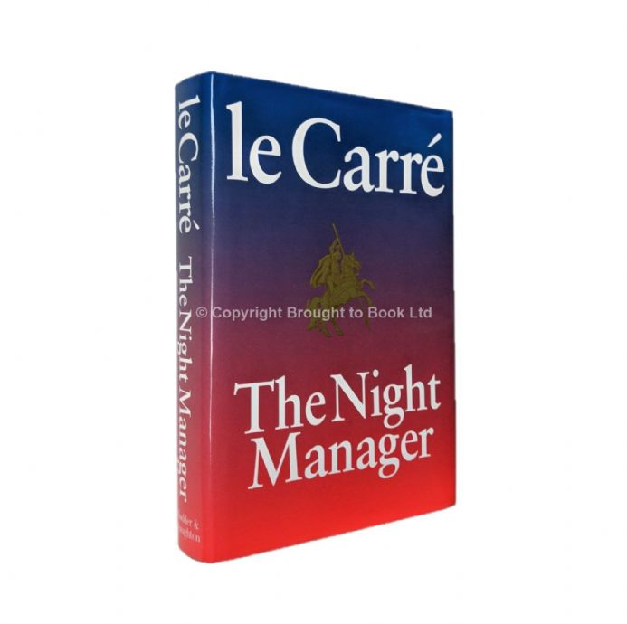 The Night Manager Signed by John le Carré First Edition Hodder & Stoughton 1993
